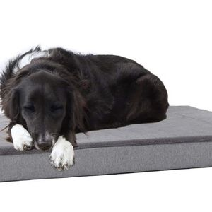 NEW In Box Memory Foam Platform Dog Bed | Plush Mattress for Orthopedic Joint Relief | Machine Washable Cuddler with Removable Cover and Water-Resista for Sale in West Palm Beach, FL