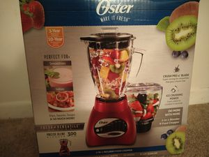 Oster blender with food chopper for Sale in Williamsville, NY