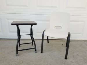 Small table and chair for Sale in Irvine, CA