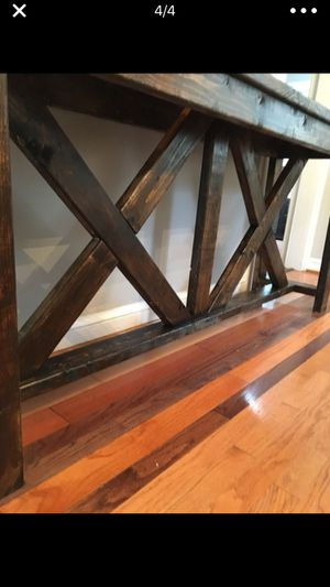 Rusty vintage style brand new console table for Sale in Falls Church, VA