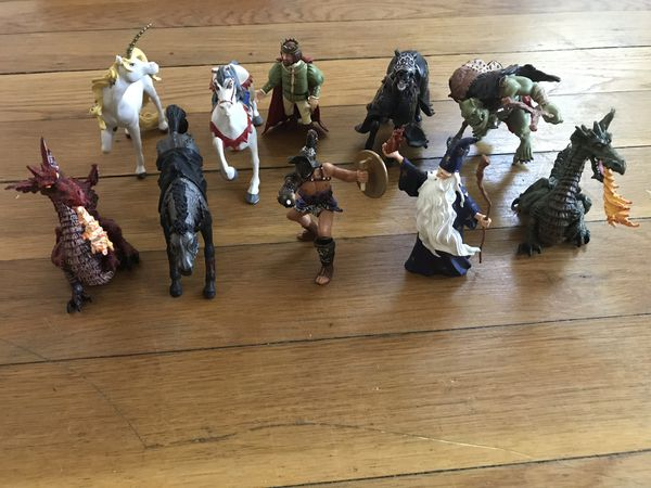 Toy Figurines- Medieval Set