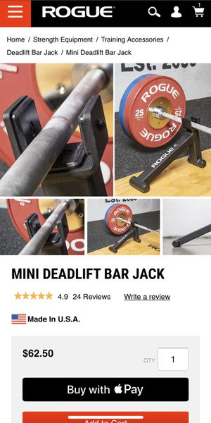 Rogue Fitness Mini Deadlift Jack for Sale in San Diego, CA