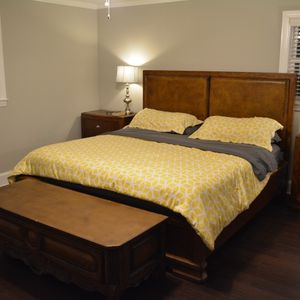 Art Deco King Bedroom Set for Sale in Durham, NC