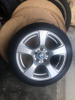 2008 BMW 328i Original wheels with great Michelin tires all 4 for Sale in Poinciana, FL