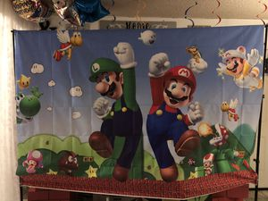 Súper Mario party supply for Sale in Baldwin Park, CA