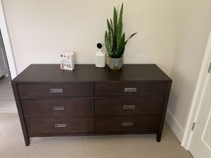 Crate&Barrel Arch Grey-Brown Dresser Drawers for Sale in Kirkland, WA