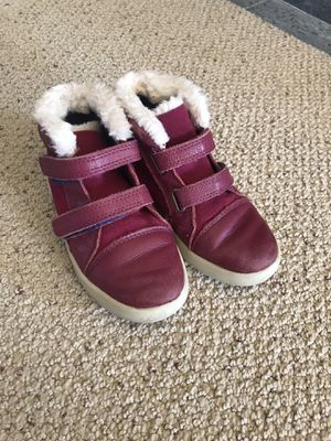 Girl's UGG winter leather boots, size 11 for Sale in Liberty Lake, WA