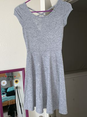 Gray dress with cross cross back for Sale in La Vergne, TN