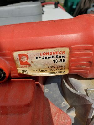 6 inch Jamb Saw for Sale in South Attleboro, MA