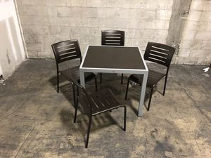 5 pc Patio Dining Set for Sale in Miami, FL