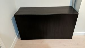 Ikea Besta Cabinet TV stand Storage shelves for Sale in Los Angeles, CA