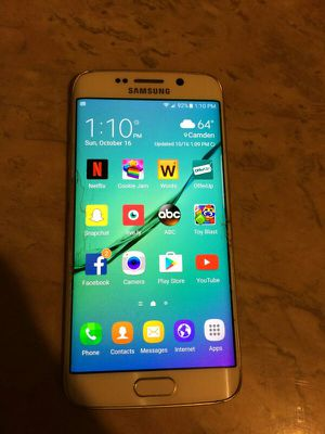Samsung Galaxy S6 Edge for Sale in Gloucester City, NJ