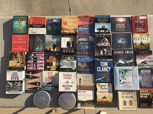 35 Audio Books & 2 Sony CD Players for Sale in Corona, CA