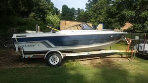 1985 Galaxy boat and trailer for Sale in CHRISTIANSBRG, VA