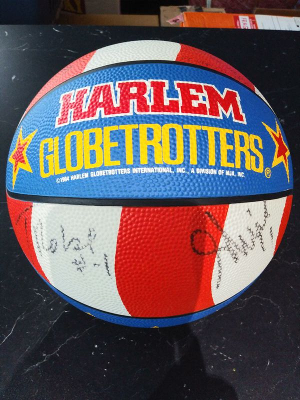 1994 Harlem Globetrotters Autograph Basketball