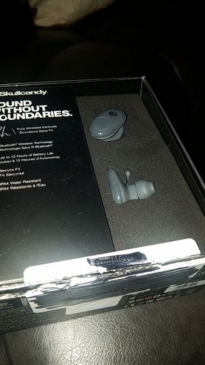 Skullcandy Push Wireless Earbuds - New Open Box/tested for Sale in Corona, CA