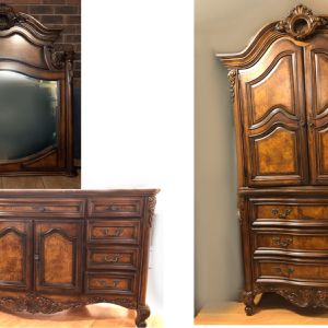 Beautiful Antique Bedroom Set for Sale in Maple Valley, WA