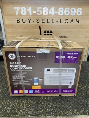 GE 10,000 BTU 115V Smart Window Air Conditioner with Remote AC. NEW for Sale in Lynn, MA
