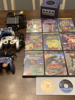 Nintendo GameCube Bundle, Zelda Wind Waker,Godzilla,Mario,Metroid for Sale in Raleigh,  NC