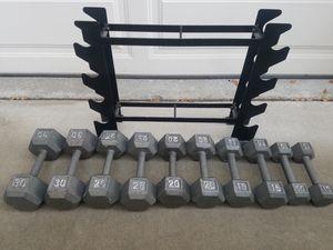 Dumbbells weights SET for Sale in Bonita, CA