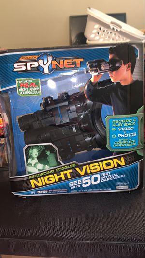 Spy Net Night Vision Goggles for Sale in Pasadena, TX
