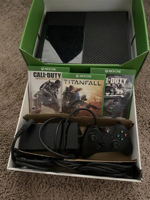 Xbox One 500gb with games for Sale in Gilbert, AZ