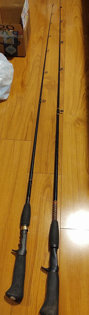 TWO SHAKESPEARE POLES for Sale in Palatine, IL