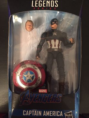 Marvel legends Captain America Endgame figure for Sale in Tampa, FL