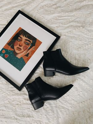 ANA memory foam black pointed booties/boots - size 8 for Sale in Phoenix, AZ