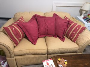 Couch and pillows for Sale in Richmond, VA