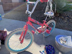 Huffy Girls Bike and Helmet for Sale in Henderson, NV