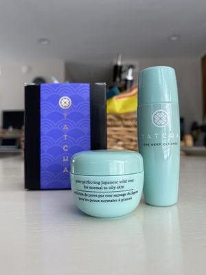 Tatcha the water cream and the deep cleanse for Sale in Walnut, CA