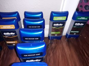 Gillette clear gel Deordorant/ Old spice/ Degree for Sale in Dallas, TX