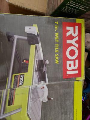 Ryobi tile cutter for Sale in Glendale, AZ