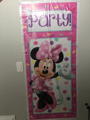 Minnie Mouse / oh twodles party supplies for Sale in Temecula, CA