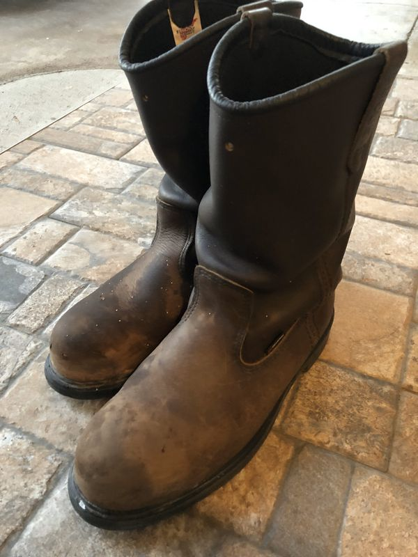 Red Wing Boots Size 12