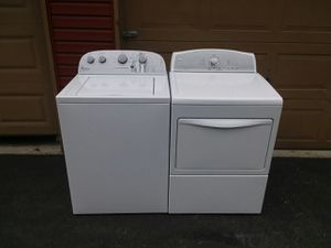 WHIRLPOOL WASHER & KENMORE DRYER + ALL ACCESSORIES!! for Sale in Tacoma, WA