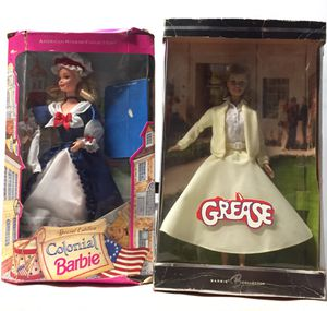 Lot of 6 1990s Barbies Collectable Grease for Sale in Pico Rivera, CA