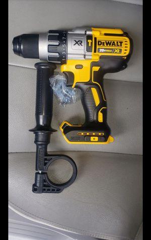 Dewalt 20v hammer drill brushless xr 3 speed brand new for Sale in Long Beach, CA