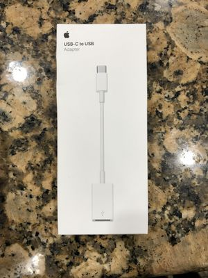 USB-C to USB Apple adapter for Sale in San Francisco, CA