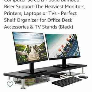 Large Dual Monitor Stand New In Box for Sale in Henderson, NV