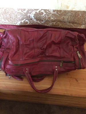 Leather duffle bag for Sale in Los Angeles, CA