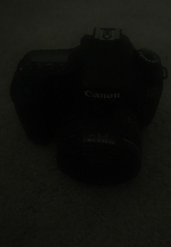 Canon 60D w/ 50mm 1.4 + Extras