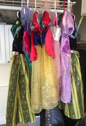 Disney Princess Dresses for Sale in Santee, CA