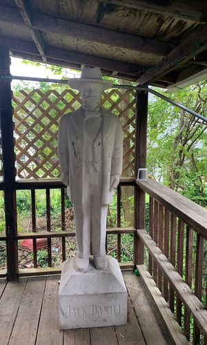 Life size Jack Daniel statue (Faux Stone) collectible for Sale in Ansonia, CT