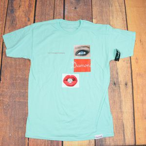 Diamond Supply Co. T-shirt / Light Green Color/ Large Size/ Short Sleeve tee for Sale in Pasco, WA