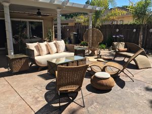 Pier 1 outdoor furniture for sale for Sale in Stockton, CA
