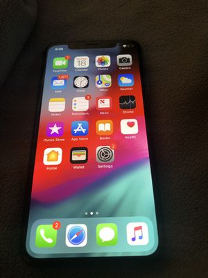 iPhone X 256gb at&t for Sale in Miami Gardens, FL