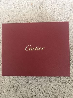 Cartier Leather Passport Wallet New In Box for Sale in Seattle, WA