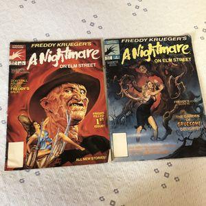 Nightmare On Elm Street 1-2 Comics for Sale in Mineola, NY